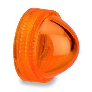 Square D 9001A9 Pilot Light, Lens, Domed, Amber, 30mm, Plastic