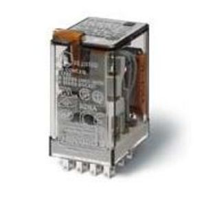 Finder Relays 5.5328120005e+011 Relay, Ice Cube, Miniature, 11 Blade, 10A, 3P, 120VAC Coil, w/ Option