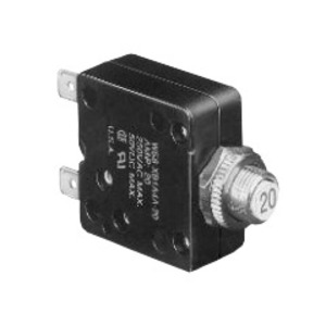 Tyco Electronics W58-XB1A4A-2 Push-To-Reset Thermal Breaker, 2 Amp, W58