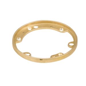 "Steel City 68PFL Trim Ring, Flush Service, Diameter: 5-5/32"", Brass"