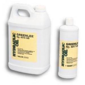 Greenlee 4016GB Hydraulic Oil - 1 Gallon Jug
