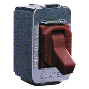 Pass & Seymour ACD1 Toggle Switch, 15A, 120/277V, 1P, Brown