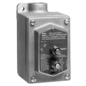 Cooper Crouse-Hinds GFS1 Aluminum Ground Fault Interrupter Cover/Device