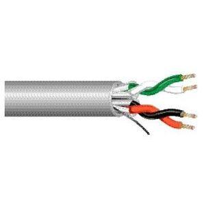 West Penn Wire 25510B Plenum, Shielded, 22/2, 1000'