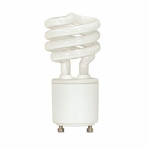 Satco S8203 Compact Fluorescent Lamp, Twist Lock, 13W, 2700K