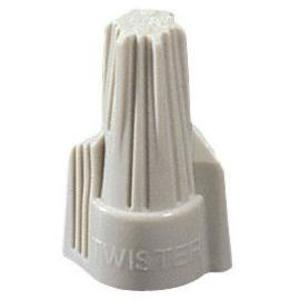 Ideal 30-641 Wire Connector, Type: Winged Twister, 22 to 8 AWG, Tan