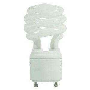 Satco S8201 Compact Fluorescent Lamp, 9W, Twist Lock, 2700K, GU24 Base