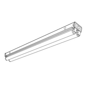 Hubbell-Columbia Lighting CS2-220-L120 General Purpose Strip, 2', 120V