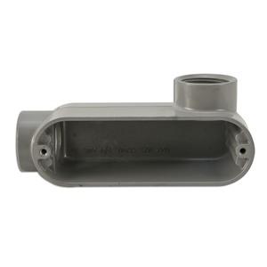 "Appleton LR57SA Conduit Body, Type LR, 1/2"", Form 7, Aluminum"