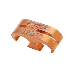 Panduit GCE250-250 Copper Ground Clamp, 1/0 AWG - 250 MCM