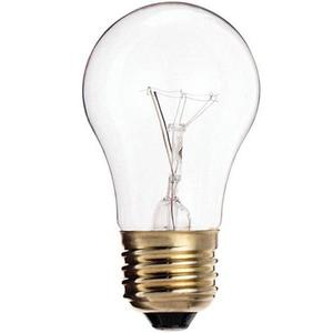 Satco S3810 Incandescent Bulb, A15, 40W, 130V, Clear