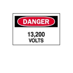 Brady 84933 Electrical Hazard Sign