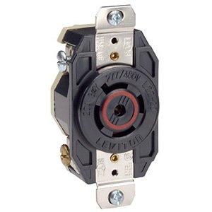 Leviton 2530 20 Amp, 347/600 Volt, NEMA L23-20R Receptacle