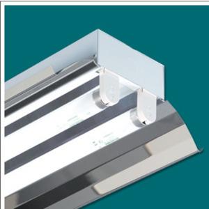 Renova Lighting IRK-18W-2LT8-UNV5.8-V Industrial Retrofit Kit, 8', 2-Lamp, T8, White