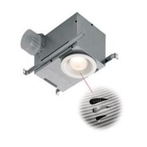 Broan 744SFLNT Humidity Sensing Recessed Fan/Light