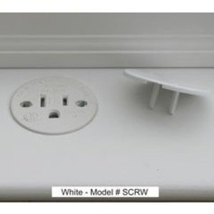 Sillites SCRW Self-Contained Receptacle, 15A, 125V, White