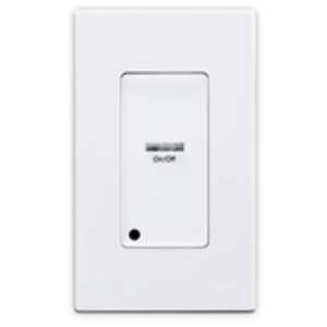 Leviton LVS-1W Pushbutton Station, 1-Button, White