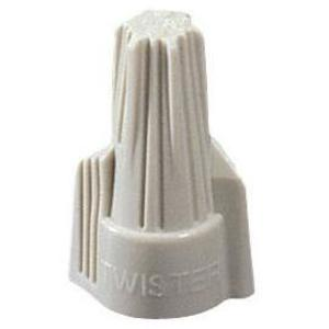 Ideal 30-341J Wire Connector, Winged Type, 22 - 8 AWG, Tan