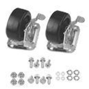 Hoffman AC4M6ST (2) Caster Kit, Stationary
