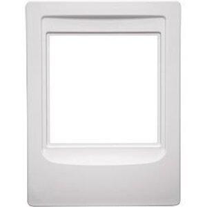 "Broan NF300RWH Rough-In Frame, Cutout: 10"" x 7-1/2"", White, Non-Metallic"