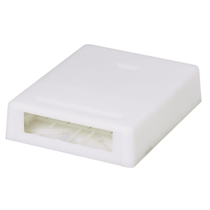 Panduit UICBX4EI-A Surface Mount Box, 4 Port, Ultimate ID,