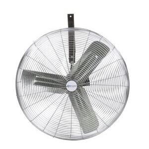 "Airmaster Fan I-24W2A-(3-SP) 24"" Industrial  Fan, Wall/Ceiling Mount, 1/3HP, 115V"