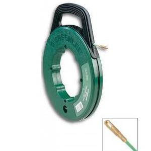 Greenlee FTF540-50 Fish Tape with Winder Case, 50'