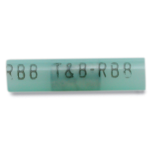 Thomas & Betts 2RB14 Butt Connector, Nylon Insulated, 16 - 14 AWG, Blue, Pack of 50