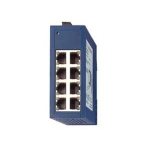Hirschmann 943-376-001 Ethernet Rail Switch, Entry Level, Industrial, 8 x 10/100Base-TX