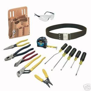 Klein 80014 14-Piece Electrician Tool Kit