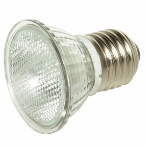 Satco S4625 Halogen Mini-Reflector Lamp, MR16, 50W, 120V, FL36