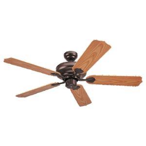 "Sea Gull 1540-10 52"" Paddle Fan, 5-Blade, Bronze Finish"