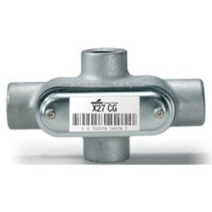 Cooper Crouse-Hinds X27CG 3/4 Npt X Form 7 Cndt Outlet Body Cvr/gask