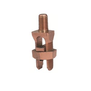 "Burndy KC17 Service Post Connector, Copper, 10 to 6 AWG, 1/4"" Stud"