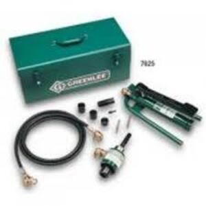 Greenlee 7606SB Punch Set,hydraulic 1/2-2 (7606sb)