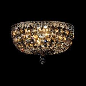 Schonbek 5040-65-L Ceiling Light, 4 Light, 40W, Ancient Bronze