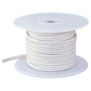 Ambiance Lighting 9373-15 12/2 Low Voltage Cable White 100'