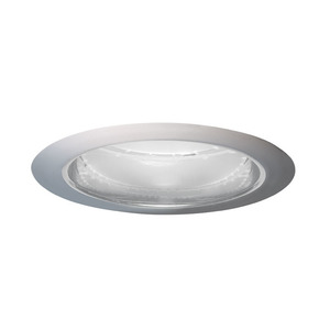 "Juno Lighting 204-PTSC Cone Trim, 5"", BR30/PAR30, Pewter Alzak Reflector/Satin Chrome Trim"