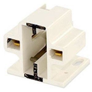 Leviton 26720-200 Compact Fluorescent Lampholder, Screw-Down, GX23, GX23-2