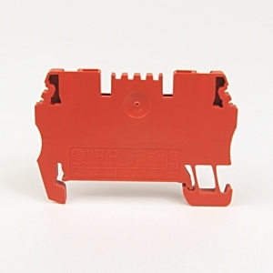 Allen-Bradley 1492-L2-RE Terminal Block, Feed Through, 15A, 300V AC/DC, Red, 4mm