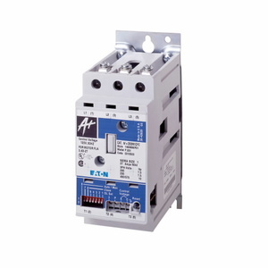 Eaton W+200M1CFC Starter, 27A, Size 1, 3P, Electronic Overload, 120VAC Coil, Open