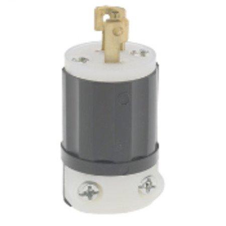 leviton - ml3-p, 15 amp plugs, nema twistlock, wiring devices - platt  electric supply