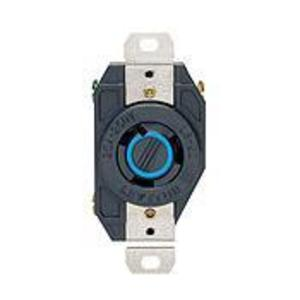 Leviton 2320 Locking Receptacle, 20A, 250V. L6-20R, 2P3W