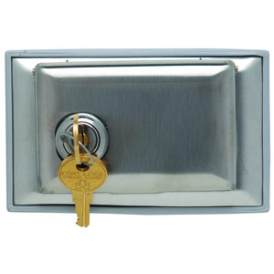 Pass & Seymour WPH1-L Dustproof Locking Cover, Stainless Steel