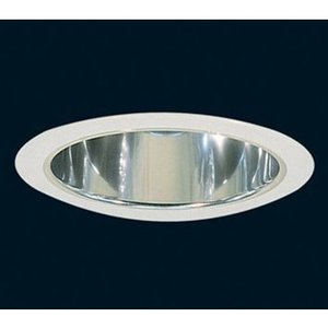 "Elite Lighting 8501CL-WH Reflector Trim, 8"", Clear Reflector/White Trim"