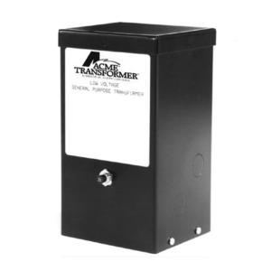 Acme T179605S Transformer, Lighting, Magnetic, 100VA, 120 - 24VAC, 1PH, Black