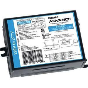 Philips Advance IMH150HBLSM Electronic Ballast, Metal Halide, 150W, 120-277V