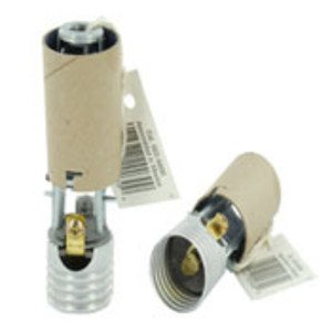 Leviton 9800 Lampholder, Incandescent, Candle Sockets, Brown