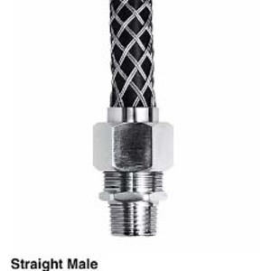 "Hubbell - Electrical CG614SST Str Male Ss Dcg, .750-.875"", 3/4"" W/mesh"