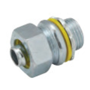 Hubbell-Raco 3406 Connector, Uninsulated Steel , 1-1/2""